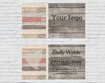 Natural Business Card | Printable Business Cards, Essential Oil Business Card, Essential Oils, Small Business, Card Business Design, Digital