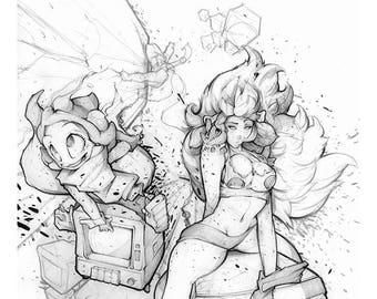 Velthaneus Pencil Print 003