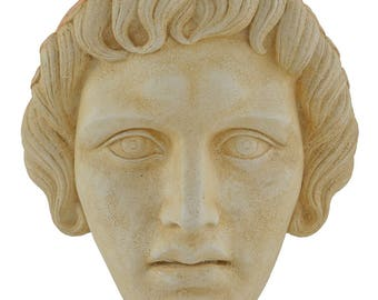 Apollo Mask - God of light sun music and poetry - Ancient Greek Theatre