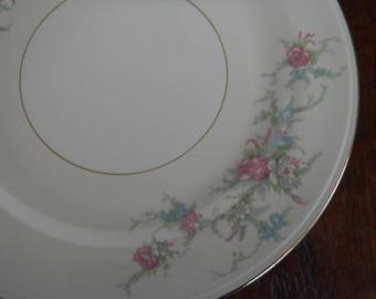 Homer Laughlin Eggshell Nautilus Calai Dinner Plate