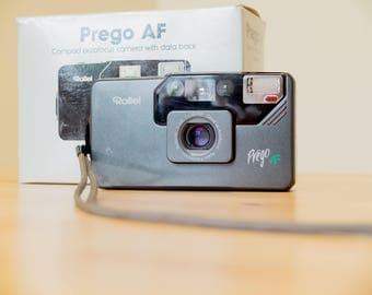 Rollei Prego AF - rollei 35 camera - Schneider Kreuznach AF Xenar f/3.5