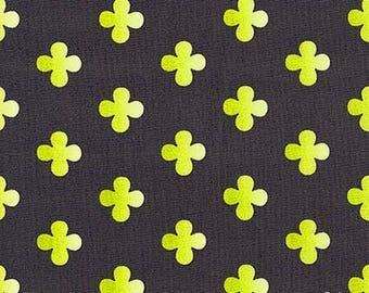 Michael Miller Helens Garden Fabric DC6195-MINERAL-D grey patchwork fabric