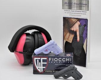 Gun Soap - Well Armed Woman - Handgun Soap - Fundraiser - Pistol Soap - TWAW - Goats Milk Soap - Lavender - Charcoal Soap - Soap Gifts