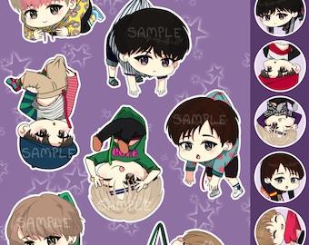 GOT7 chibi charms/phone straps // kpop charms