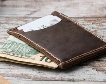 Minimalist Wallet, Leather Slim Wallet, Mens Leather Wallet, Mens Wallets, Groomsmen Gifts, Leather Wallets, Mens Wallet, Slim Wallet