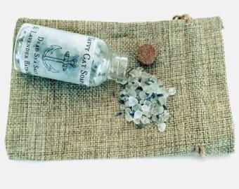 Lavender & Dead Sea Salt Bath Soak - Natural, Handmade, Bath Salts, Relaxing, Bath time, Lavender, Dead Sea Salt, For Her, For Him, Spa