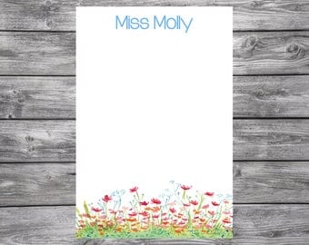 Garden Notepad-Personalized-4x6
