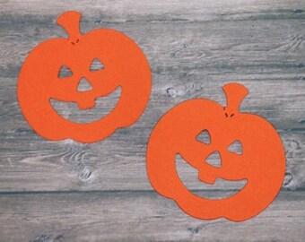 Pumpkin/Jack O' Lantern die cuts, halloween die cuts, Pumpkin, Jack O'lantern, Halloween,