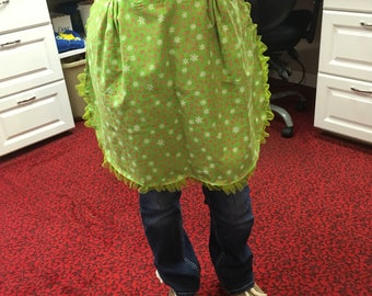 Green Candy Cane Apron