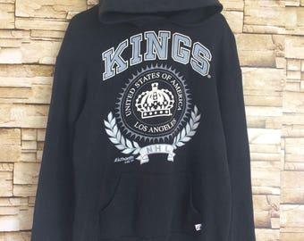 Vintage KINGS NHL hoodie jumper medium size