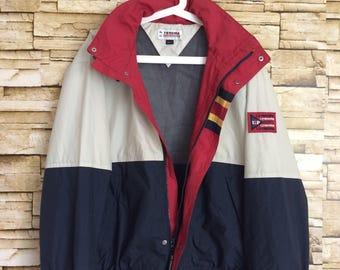 Vintage 90's UP RENOMA windbreaker zippers large size