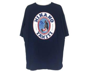 Vintage HINANO TAHITI premium beer tshirt
