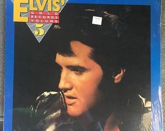 10% Elvis Presley - Elvis' Gold Records Vol. 5 New Sealed (180 Gram Audiophile Vinyl/30th Anniversary Ltd. Edition/Gatefold Cover)