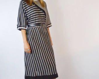 Vintage 1970's Nordstrom Acrylic Blend Dress Size Medium