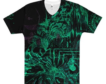 The Abstract  V-Neck T-Shirt