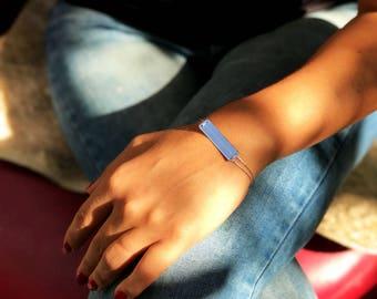 Silver Bar Bracelet, Engraved Bracelet, Personalized Bracelet, Custom Name Bracelet, Bridesmaid Jewelry, Bridesmaid Gift, Christmas Gift