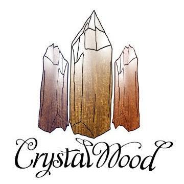 CrystalWoodJewellery - Wood ring, necklace, cufflinks, tie clip, earrings