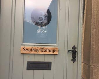 White Oak Address Plaque|House Sign|House Name
