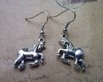 Unicorn - earrings ~ silver ~