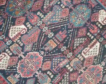Antique persian rug 4.1 × 3.7 ft 125 × 110 cm