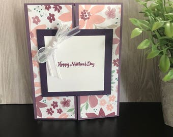Happy Mother's Day/Handmade Greeting Card