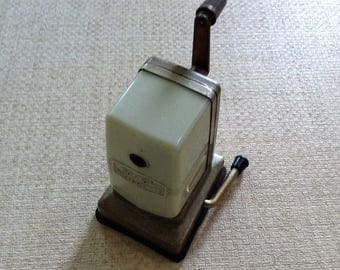 Vintage Pencil Sharpener Office Equipment Retro Office Decor