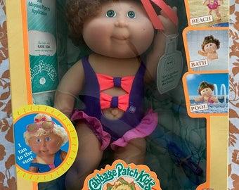 "Cute 1991 Cabbage Patch Kids ""Splash N Tan"""