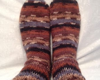 Knitted socks, Sockenaus wool, wool socks, selbstgfestricktesocken, striped socks