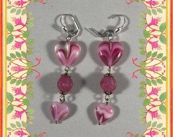 Bleeding Heart Earrings II