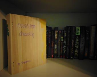 Rapunzel Wooden Book