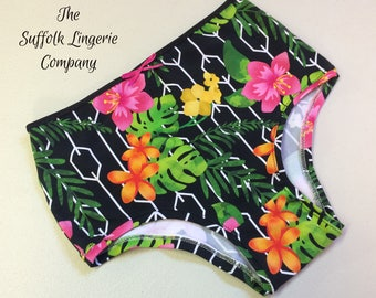 Made to Measure High Waisted Knickers UK Size 8-16