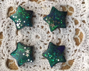 Galaxy star resin