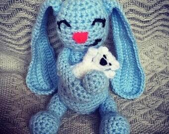 Handmade Crochet Bunny Rabbit Toy