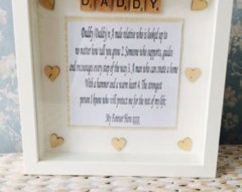 Handmade dad desciption Frame