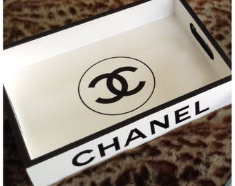 Chanel white tray