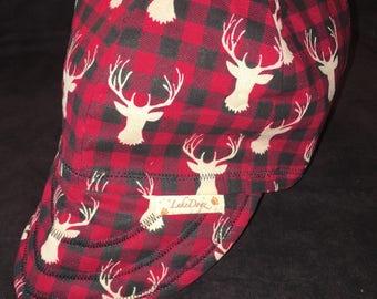 Deer Head Reversible hat