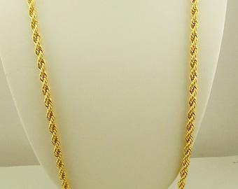Nolan Miller Braided Chain Necklace
