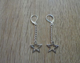 """Star"" Silver earrings"