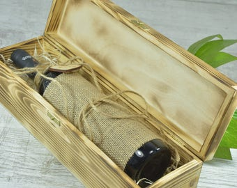 Wine Box, Handcrafted, Personalized Wine Box, Wood Wine Box, Wedding Wine Box, Ceremony Wine Box, Anniversary, Custom Engraved Wine Box