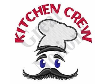 Kitchen Crew - Machine Embroidery Design