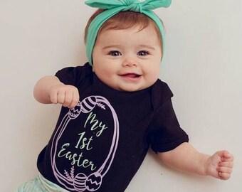 1st Easter Onesie, First Easter Onesie, Easter Onesie, Easter Baby Outfit, Baby Easter Outfit, Baby Easter, Easter Baby, Easter Onesie