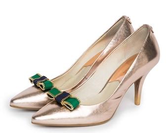 Zippy in Green - Shoe Clips