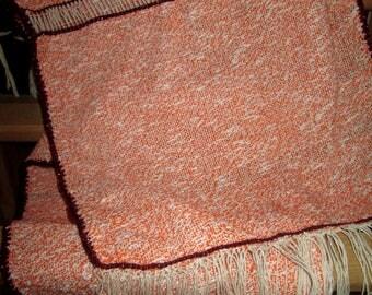 woven cotton scarf