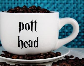 Harry Potter-Coffee Mug-Pott Head-Funny cup