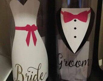 Wedding party skinny tumblers