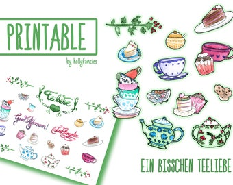 Teatime Sticker set