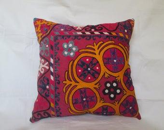 Uzbek traditional pillow,Uzbek suzani pillow cases,decorative pillow case.