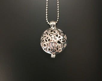 Round Pearl Cage