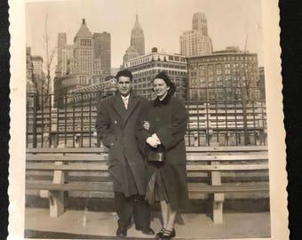 1953 New York Vacation Photograph