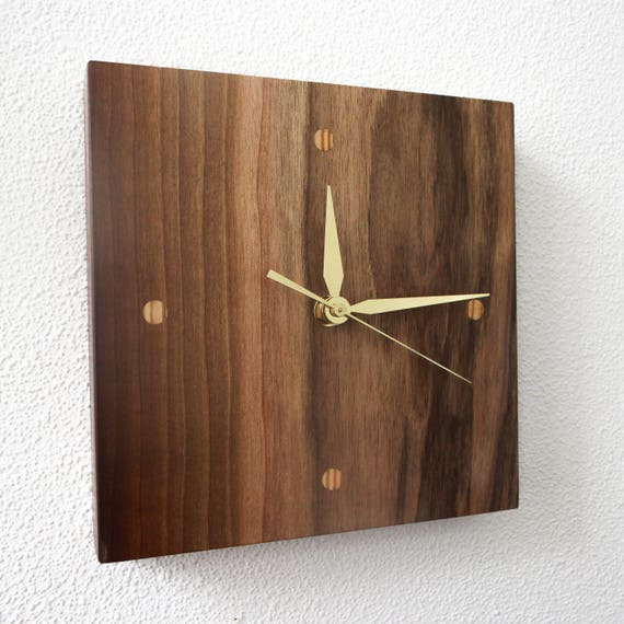 Unique Wall Clocks Wall Clock Modern Wood Clocks Small